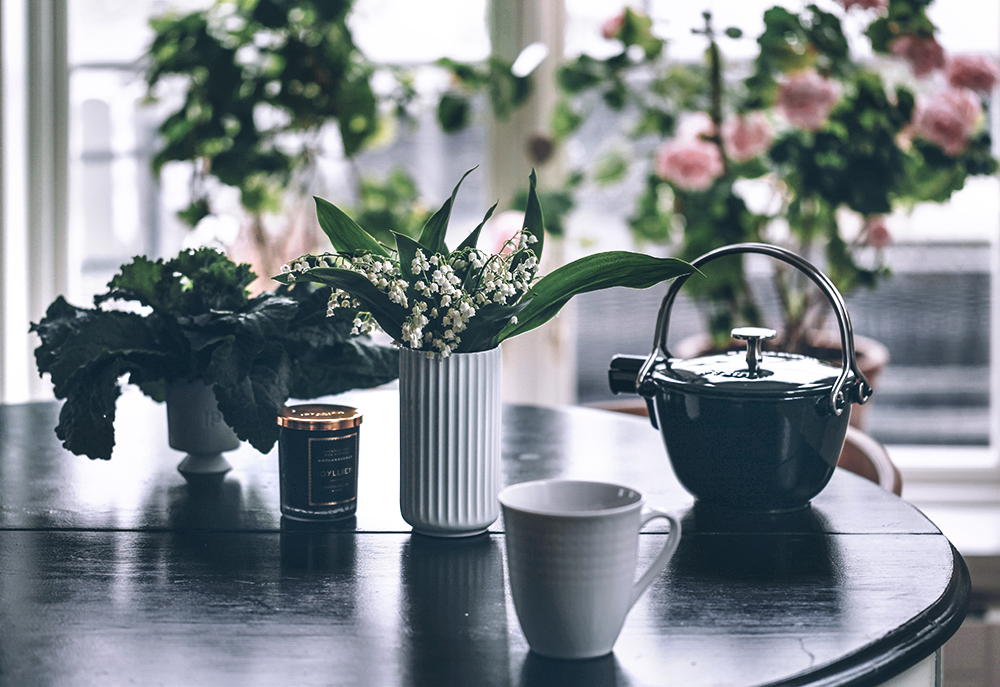 blommor, inredning