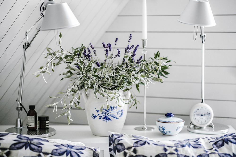 lavendel, blommor