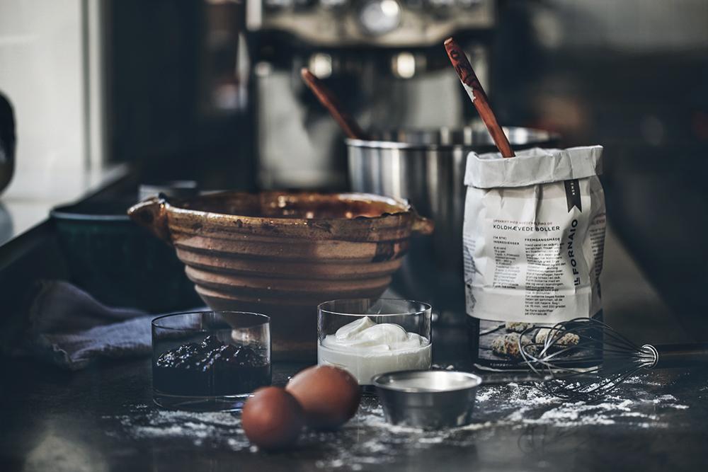 Gammaldags brun pepparkaka, kaffe och ekollon!