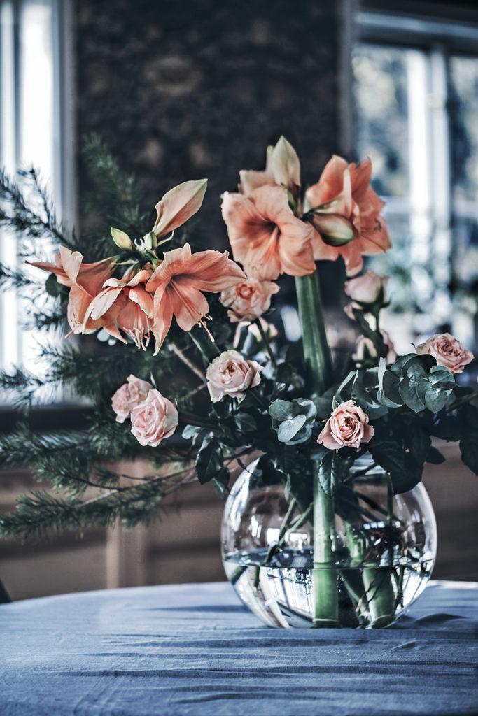bukett, blommor