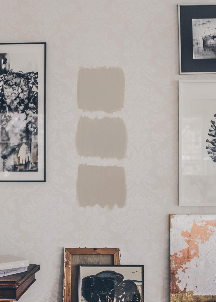 Måla väggar