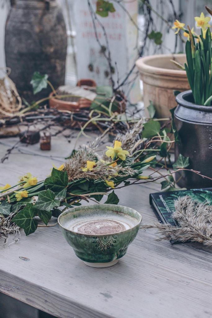 Pyssel, Vårkrans till ytterdörr