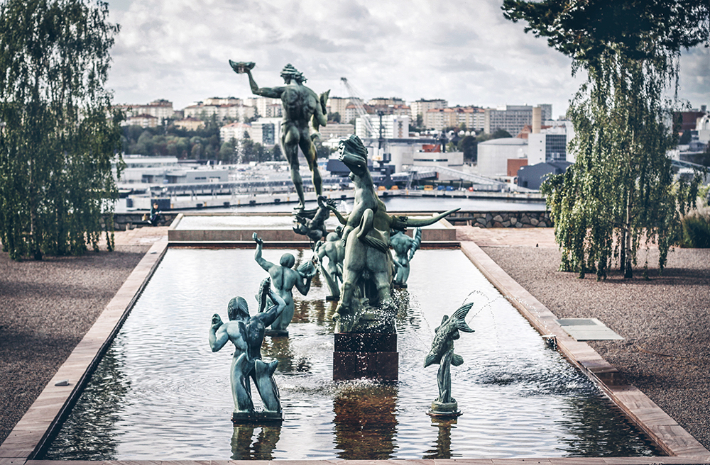 Skulpturparken, Millesgården