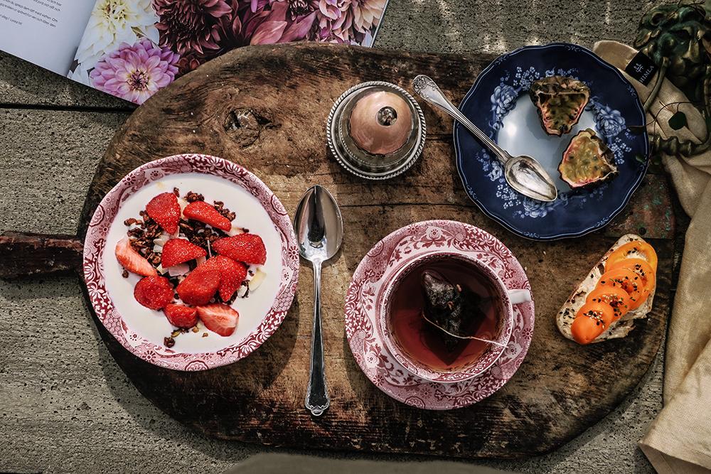 Spode Cranberry porslin
