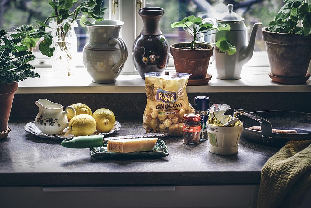 Gnocchi med sardell