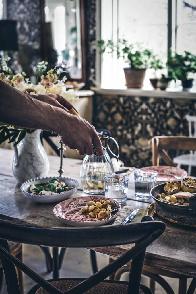 Recept Gnocchi, sardell, parmesan