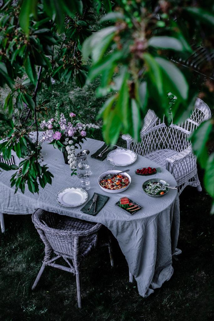 Ost-och grönsakspaj, Svensk Tenn