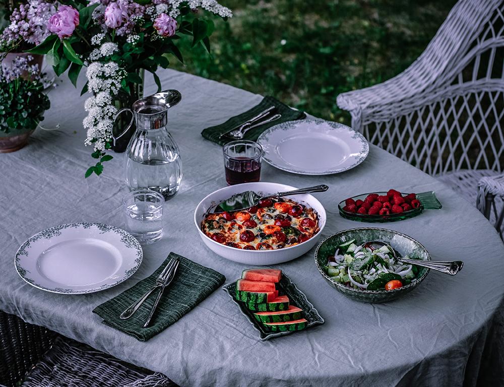 ost- och grönsakspaj
