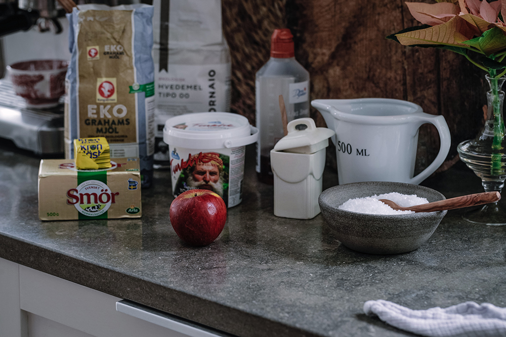 Recept grahamnsfrallor